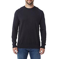 Tog 24 - Navy darton cashmere mix crew neck jumper