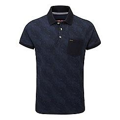 Tog 24 - Navy print devlin polo shirt