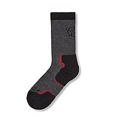 Tog 24 - Dark grey marl dun ford merino trek socks