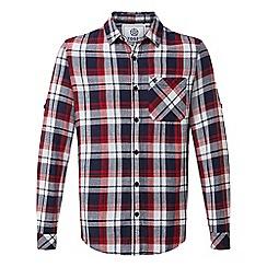 Tog 24 - Navy check edgar cotton shirt