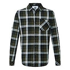 Tog 24 - Dk khaki check edgar cotton shirt
