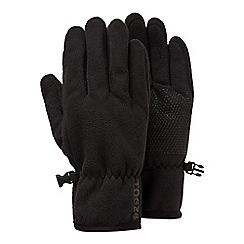 Tog 24 - Black eske windproof fleece gloves