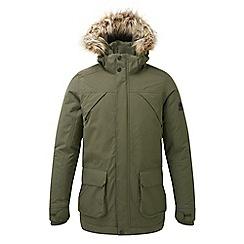 Tog 24 - Dark khaki 'Essential' waterproof parka jacket