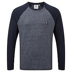 Tog 24 - Navy marl eston long sleeve t-shirt