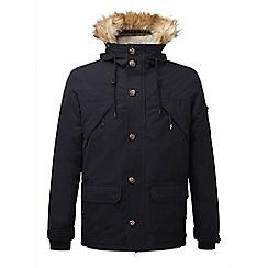 Tog 24 - Black fairmount milatex/down parka jacket