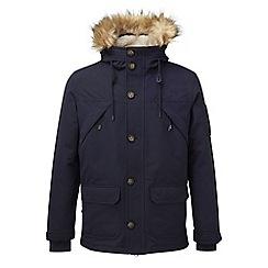 Tog 24 - Navy fairmount milatex/down parka jacket