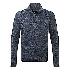 Tog 24 - French navy falmouth knit button neck