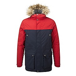 Tog 24 - Chilli/navy farley milatex parka jacket dc