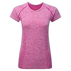 Tog 24 - Berry marl fierce tcz stretch seamless t-shirt