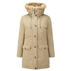 Tog 24 - Apricot firenza milatex/down parka jacket