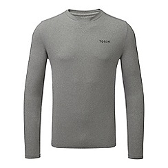 Tog 24 - Grey marl fixby thermal crew neck t-shirt