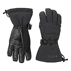 Tog 24 - Black frickley waterproof ski gloves