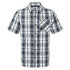 Tog 24 - French navy fulford short sleeve performance check shirt
