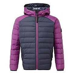 Tog 24 - Navy and grape fuse hooded down jacket