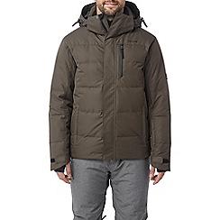 Tog 24 - Dark khaki gunby mens down fill ski jacket