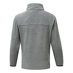 Tog 24 - Grey marl halo tcz 100 fleece zip neck