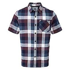 Tog 24 - Deep port halt by short sleeve slub check shirt