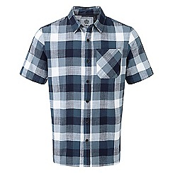 Tog 24 - French navy halt by short sleeve slub check shirt
