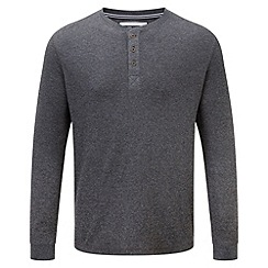 Tog 24 - Dark grey marl hanson tcz cotton long sleeved t-shirt