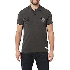 Tog 24 - Dark Grey Marl Hebble Pique Polo Shirt