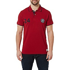Tog 24 - Chilli Red Hebble Pique Polo Shirt