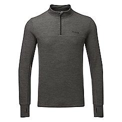 Tog 24 - Grey marl hebden merino zipneck jacket