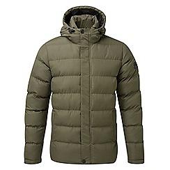 Tog 24 - Dark khaki hexham long insulated jacket