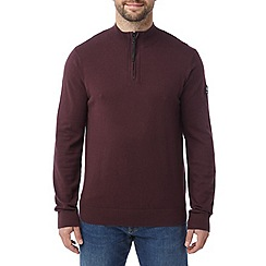 Tog 24 - Deep port holmes cashmere mix zip neck jumper