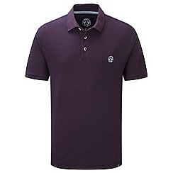 Tog 24 - Plum holt polo shirt