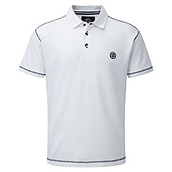 Tog 24 - White holt polo shirt