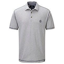 Tog 24 - Light grey marl holt polo shirt