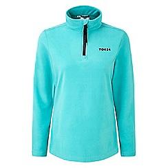 Tog 24 - Ceramic blue humber TCZ 100 zipneck fleece jacket