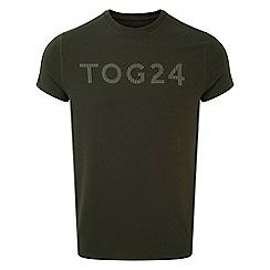Tog 24 - Dark khaki Hutton performance graphic t-shirt