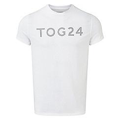 Tog 24 - White Hutton performance graphic t-shirt