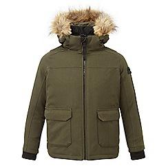 Tog 24 - Dark khaki Julian waterproof insulated parka jacket