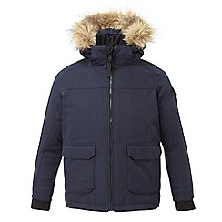 Tog 24 - Navy Julian waterproof insulated parka jacket