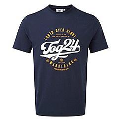 Tog 24 - Navy kelton mens graphic t-shirt
