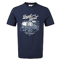 Tog 24 - Navy kelton mens graphic t-shirt