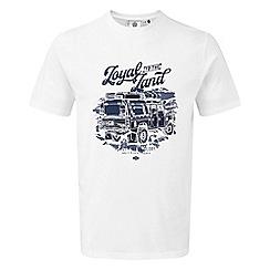 Tog 24 - White kelton mens graphic t-shirt
