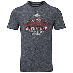 Tog 24 - Midnight marl kilter t-shirt adventure print
