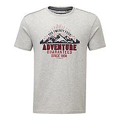 Tog 24 - Light grey marl kilter t-shirt adventure print
