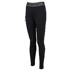 Tog 24 - Black kinetic tcz stretch training leggings