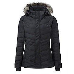 Tog 24 - Black kirby womens down fill ski jacket