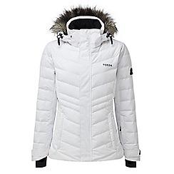 Tog 24 - White kirby womens down fill ski jacket