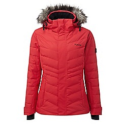 Tog 24 - Rouge red kirby womens down fill ski jacket