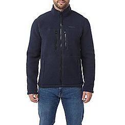Tog 24 - Navy Leonard Sherpa fleece jacket