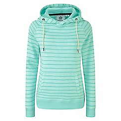 Tog 24 - Spearmint Lockwood striped marl thermal fleece hoody
