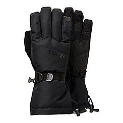 Tog 24 - Black lockton waterproof ski gloves