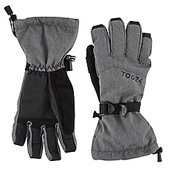 Tog 24 - Dark grey marl Lockton waterproof ski gloves