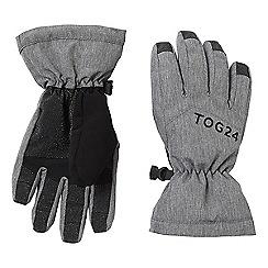 Tog 24 - Dark grey marl Lockton kids waterproof ski gloves